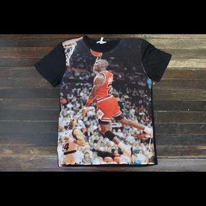Jordan full print shirt